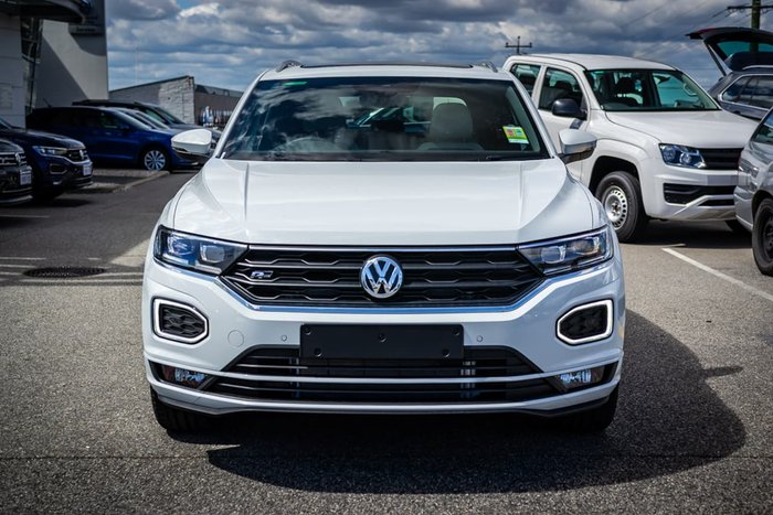 2020 Volkswagen T-Roc 140TSI Sport A1 MY20 Four Wheel Drive White