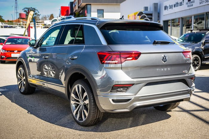 2020 Volkswagen T-Roc 140TSI Sport A1 MY20 Four Wheel Drive Grey