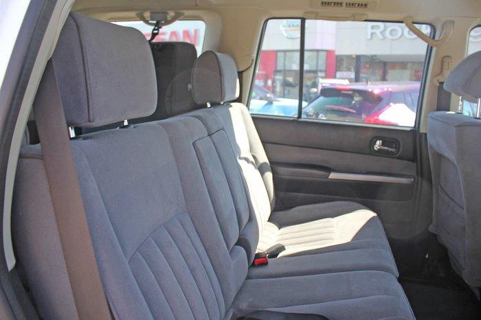 2011 Nissan Patrol ST GU 7 MY10 4X4 Dual Range White