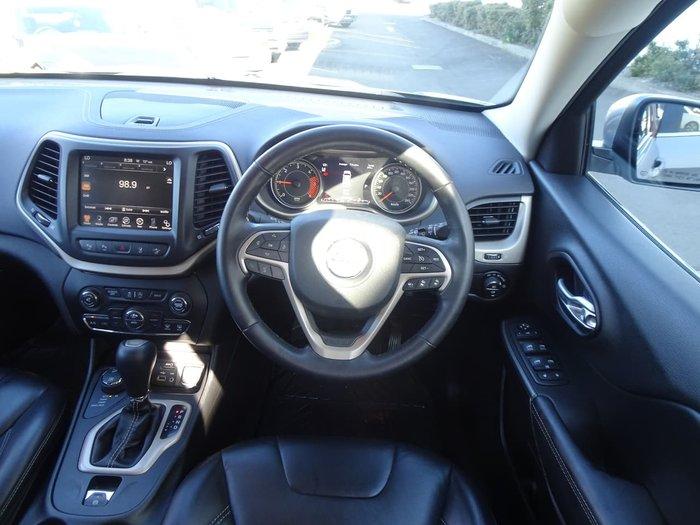 2015 Jeep Cherokee Limited KL MY15 4X4 Dual Range Silver