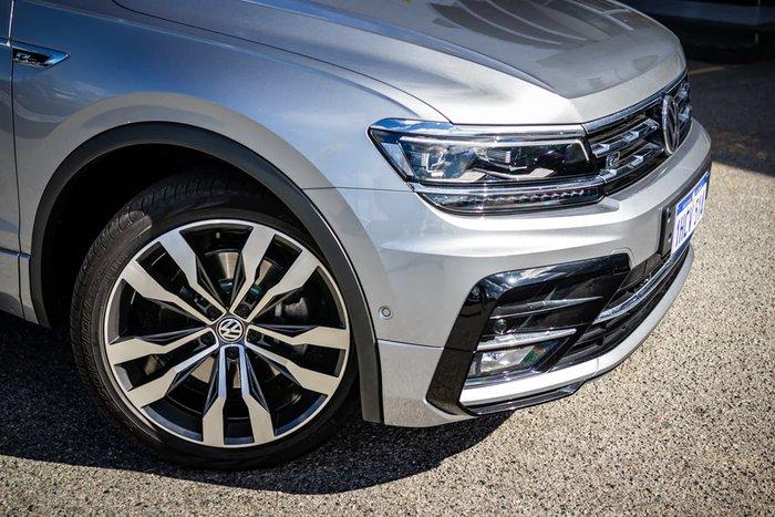 2019 Volkswagen Tiguan 162TSI Highline Allspace 5N MY19.5 Four Wheel Drive Silver