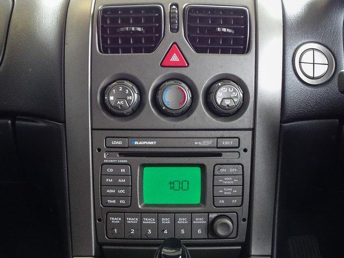 2005 Holden Commodore SV8 VZ Black