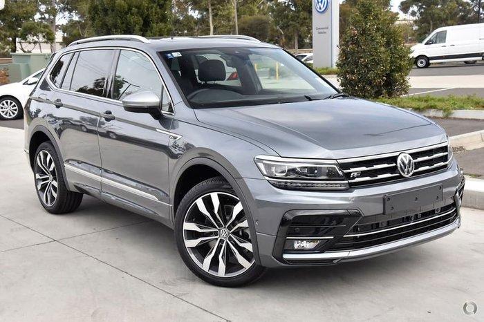 2019 Volkswagen Tiguan 162TSI Highline Allspace 5N MY20 Four Wheel Drive Platinum Grey