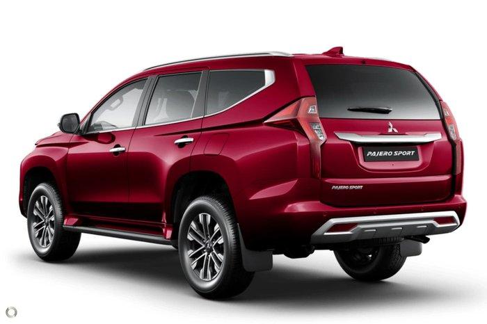2020 Mitsubishi Pajero Sport Exceed QF MY20 4X4 Dual Range Red