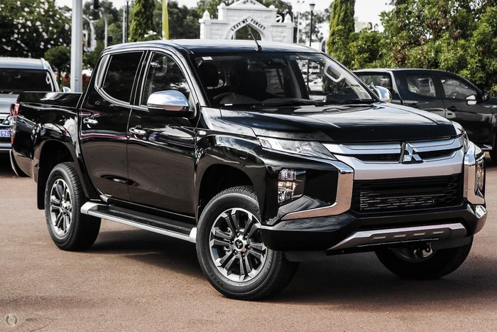 2020 Mitsubishi Triton GLX-R MR MY20 4X4 Dual Range Black