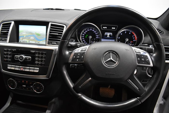 2015 Mercedes-Benz M-Class ML500 W166 MY15 4X4 Constant White