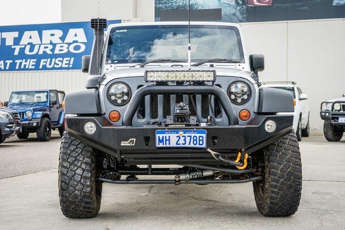 2012 Jeep Wrangler Sport JK MY12 4X4 Silver