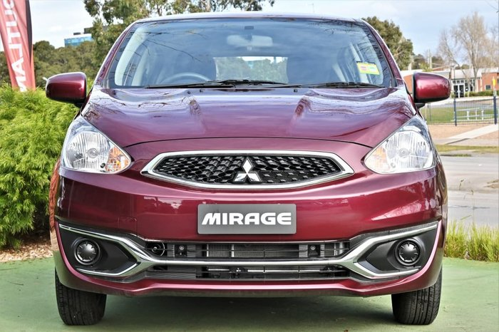 2019 Mitsubishi Mirage ES LA MY20 Red