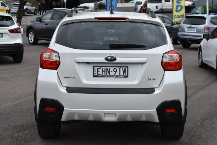 2012 Subaru XV 2.0i G4X MY12 Four Wheel Drive White
