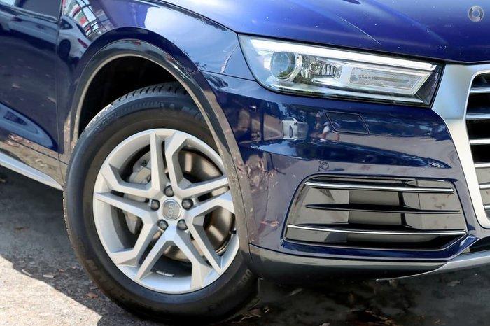 2018 Audi Q5 TDI design FY MY18 4X4 On Demand Blue