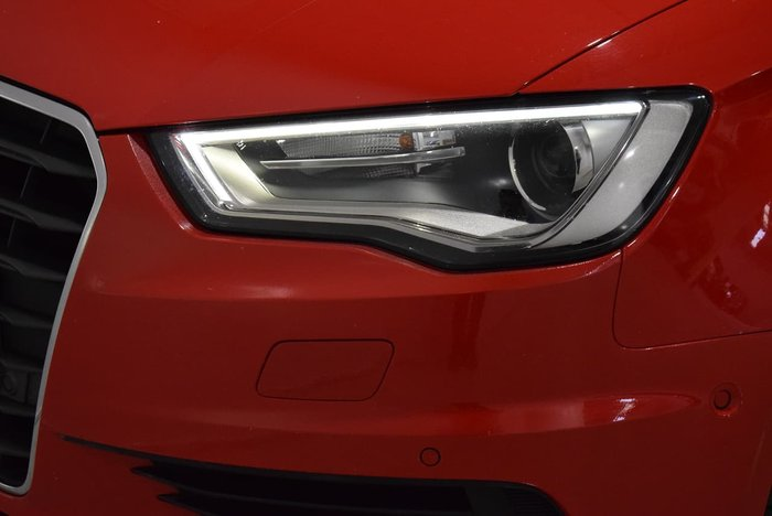 2014 Audi A3 Attraction 8V MY14 Red
