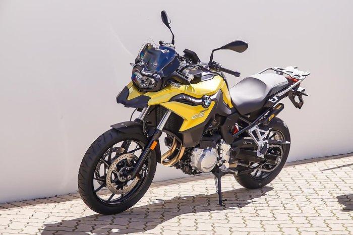 2020 BMW F 750 GS Yellow
