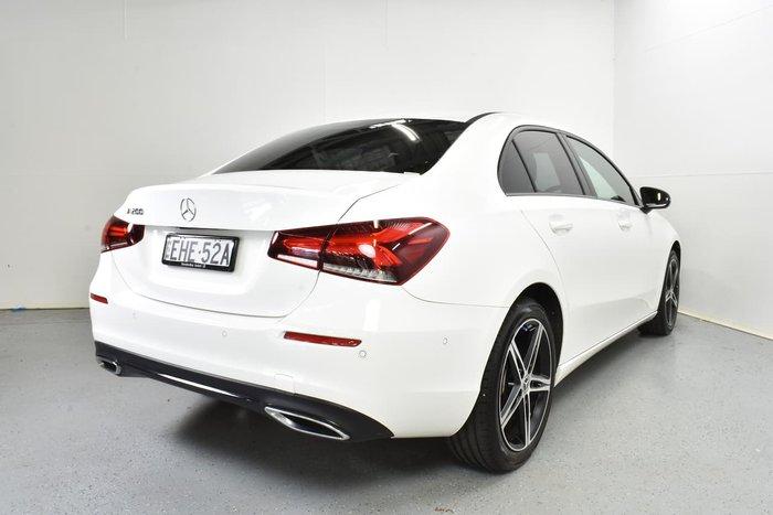 2018 Mercedes-Benz A-Class A200 V177 White