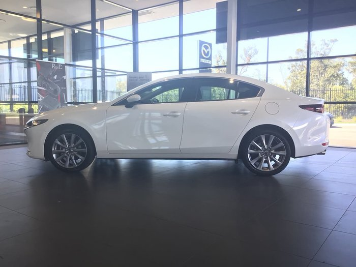 2020 Mazda 3 G25 Evolve BP Series White