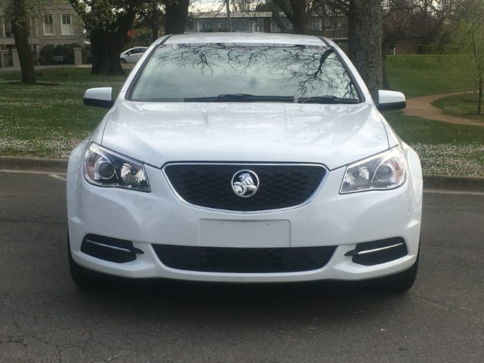 2014 Holden Commodore Evoke VF MY15 HERON WHITE