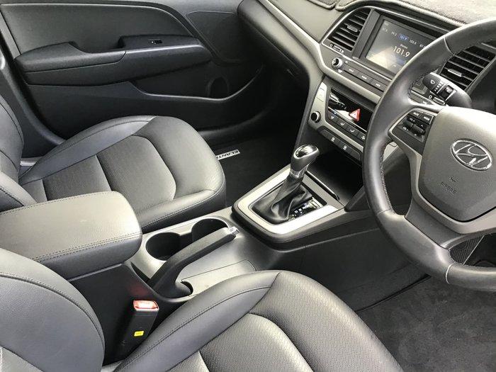 2018 Hyundai Elantra Trophy AD MY18 White