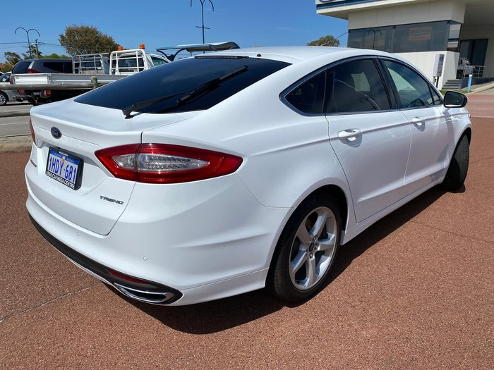 2018 Ford Mondeo Trend MD MY18.25 White