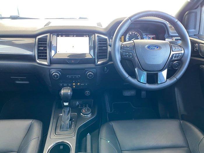 2019 Ford Everest Titanium UA II MY20.25 4X4 Dual Range Silver