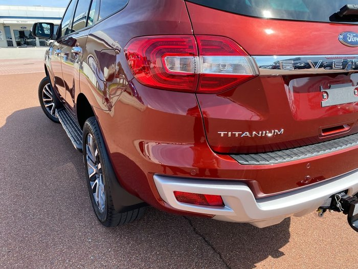 2019 Ford Everest Titanium UA II MY19 4X4 Dual Range Red