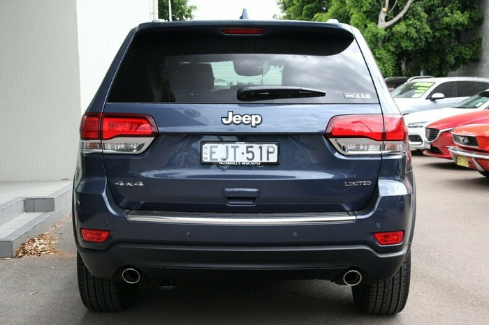 2020 Jeep Grand Cherokee Limited WK MY20 4X4 Dual Range Slate Blue