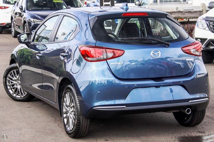 2020 Mazda 2 G15 Evolve DJ Series Blue