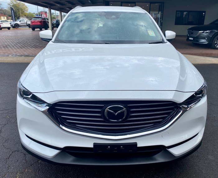 2020 Mazda CX-8 Snowflake White Pearl