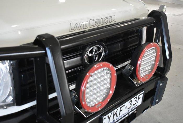 2013 Toyota Landcruiser Workmate VDJ79R MY13 4X4 Dual Range White