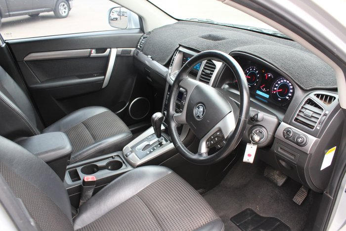 2012 Holden Captiva 7 CX CG Series II 4X4 On Demand Silver