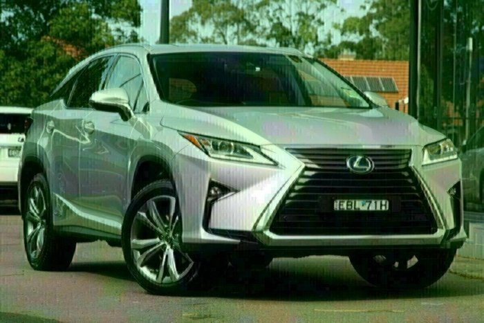 2019 Lexus RX RX450h Luxury GYL25R 4X4 On Demand SILVER