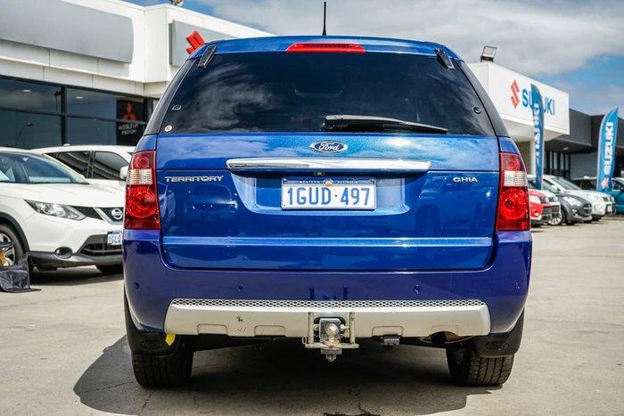 2010 Ford Territory Ghia SY MKII Blue