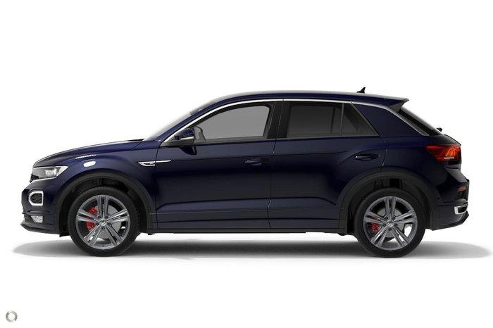 2020 Volkswagen T-Roc 140TSI Sport A1 MY20 Four Wheel Drive Blue
