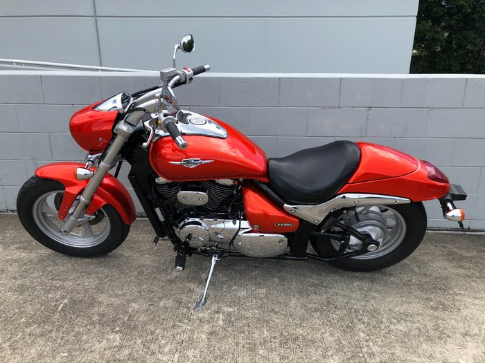 2010 Suzuki VZ800 (BOULEVARD M50) Orange