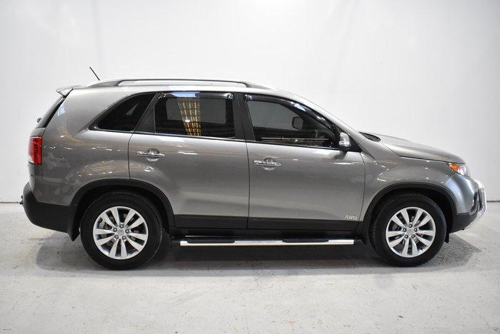 2012 Kia Sorento Platinum XM MY12 Four Wheel Drive Grey