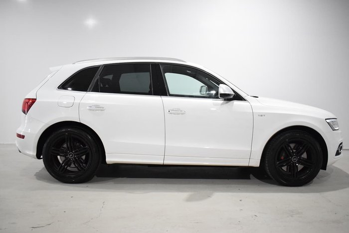 2015 Audi SQ5 TDI 8R MY15 Four Wheel Drive White