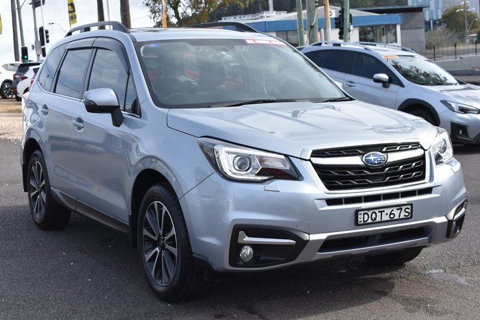 2017 Subaru Forester 2.5i-S S4 MY18 Four Wheel Drive Silver