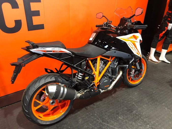 2020 KTM 1290 SUPER DUKE GT White