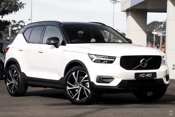 2020 Volvo XC40 T5 R-Design MY21 Four Wheel Drive White