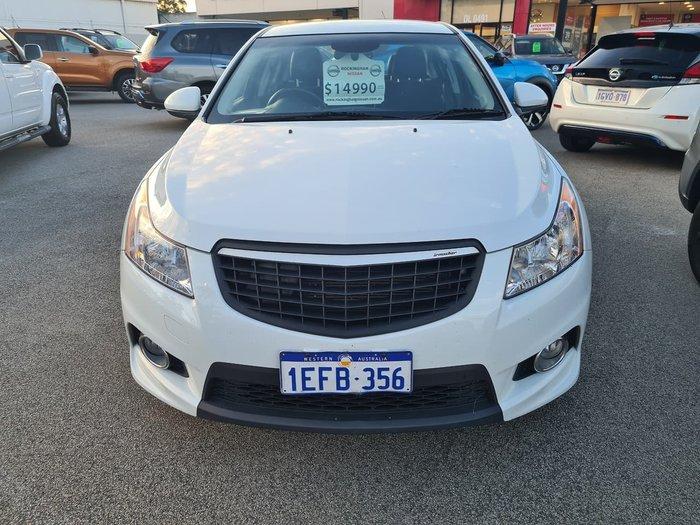 2013 Holden Cruze SRi JH Series II MY14 White