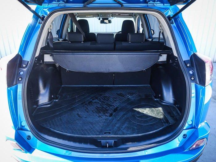2018 Toyota RAV4 GXL ALA49R 4X4 On Demand Blue