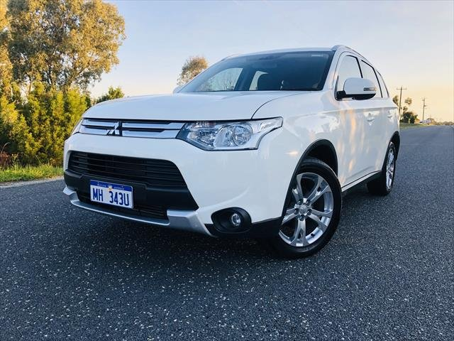 2014 Mitsubishi Outlander LS ZJ MY14.5 4X4 On Demand White