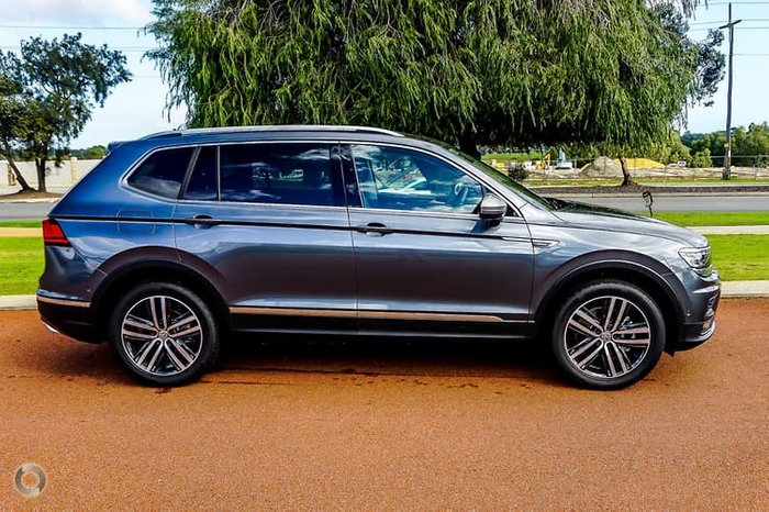 2020 Volkswagen Tiguan 162TSI Highline Allspace 5N MY20 Four Wheel Drive Grey