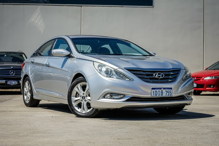 2010 Hyundai i45 Elite YF Silver