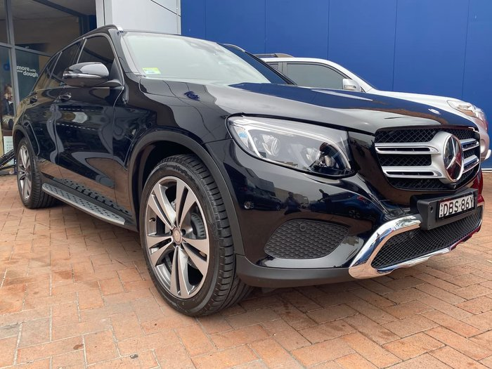 2015 Mercedes-Benz GLC-Class GLC250 d X253 Four Wheel Drive Black