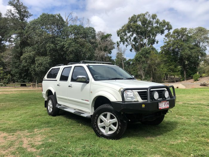 2005 Holden Rodeo LT RA MY05 4X4 White