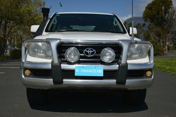2011 Toyota Landcruiser GXL VDJ200R MY10 4X4 Constant white
