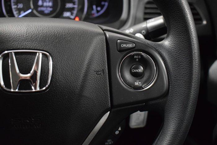 2017 Honda CR-V VTi RM Series II MY17 4X4 On Demand Silver
