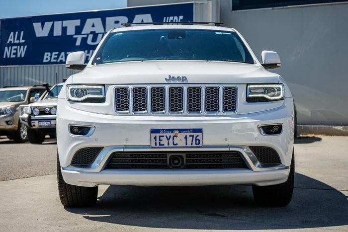 2016 Jeep Grand Cherokee Summit WK MY15 4X4 Constant White