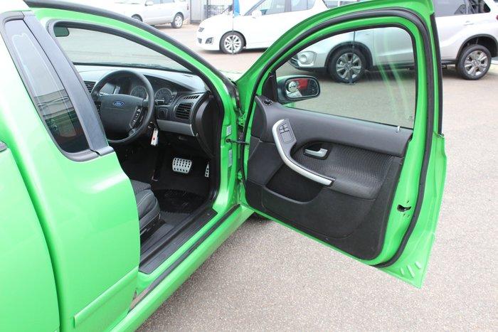 2008 Ford Falcon Ute XR6 BF Mk II Green