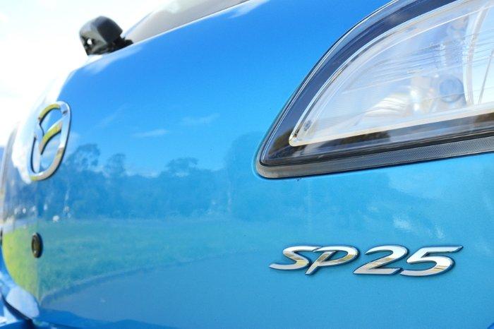 2009 Mazda 3 SP25 BL Series 1 BLUE