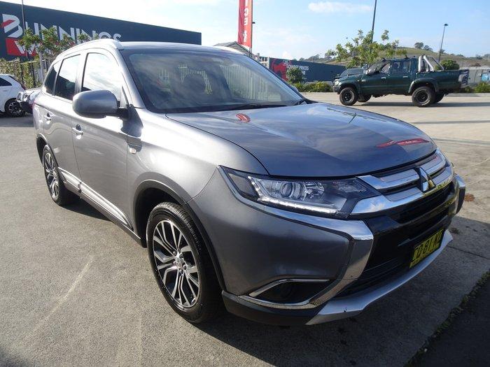2018 Mitsubishi Outlander ES ADAS ZL MY18.5 4X4 On Demand Grey